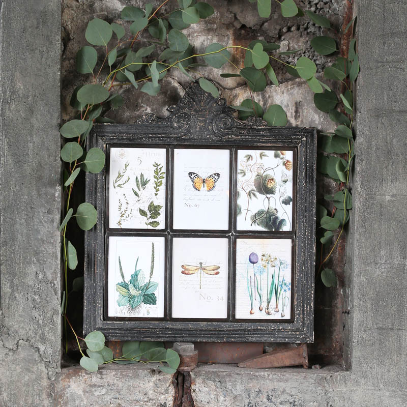 FIR WOOD FRAME 6 IN ONE BK