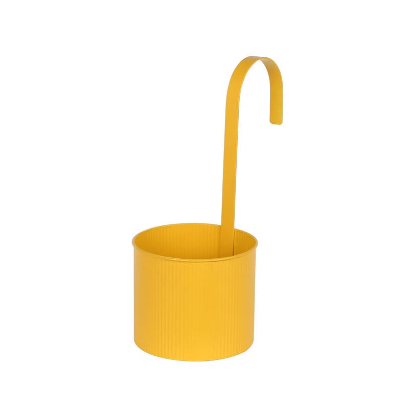 HANGING POT YELLOW