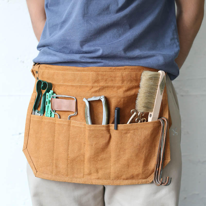 WAX CANVAS MULTIPURPOSE TOOL BAG CAMEL