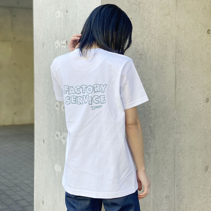 Factory Service T-SHIRTS WHITE/GREEN M