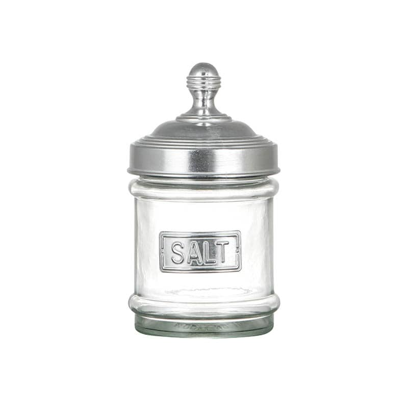GLASS CANISTER SALT