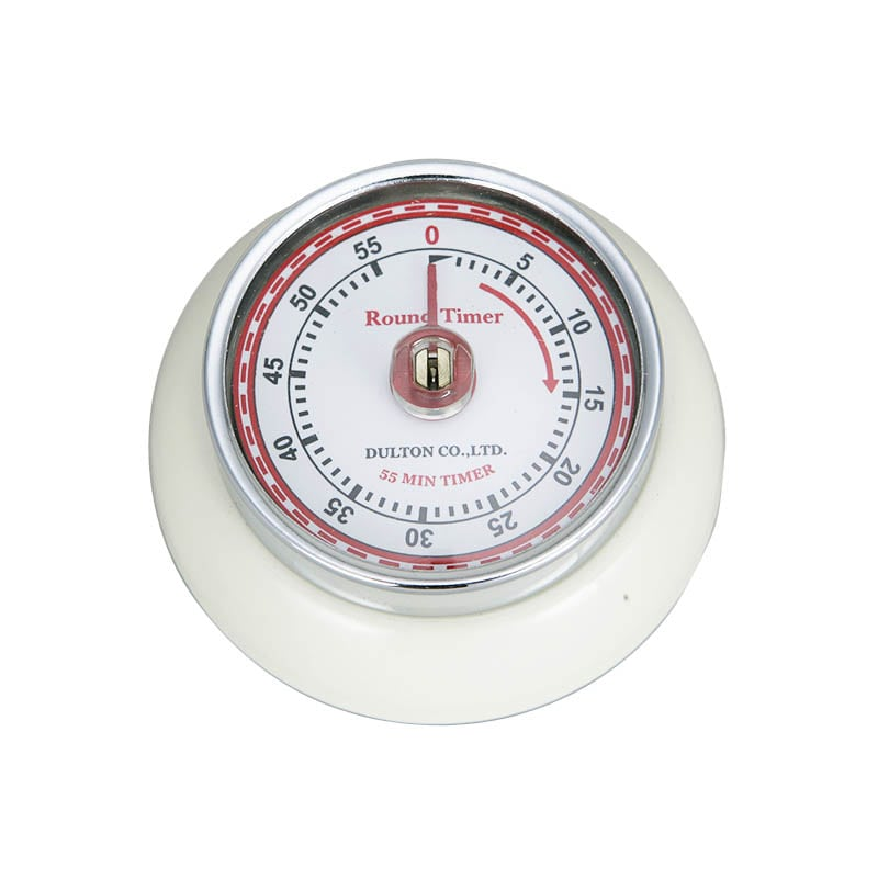 RoomClip商品情報 - KITCHEN TIMER WITH MAGNET IVORY