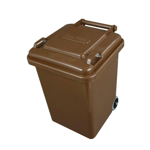 PLASTIC TRASH CAN 18L BROWN