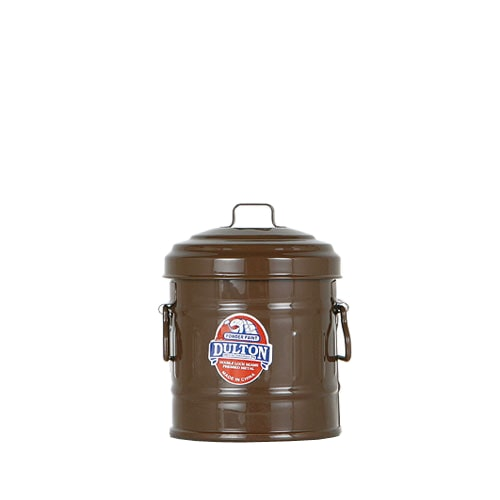 MICRO GARBAGE CAN BROWN
