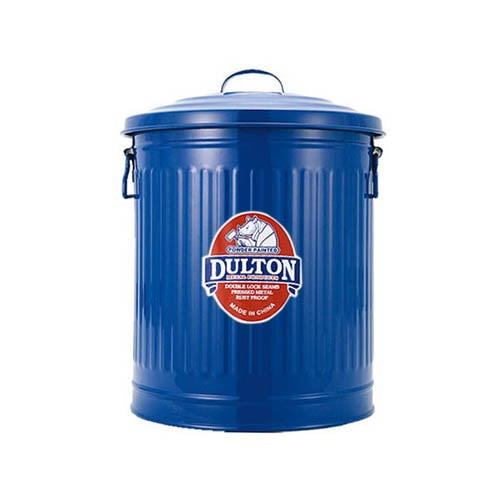 MINI GARBAGE CAN BLUE-M