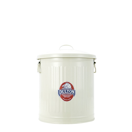 MINI GARBAGE CAN IVORY-L