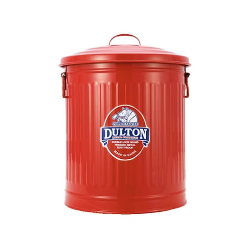 MINI GARBAGE CAN RED-M