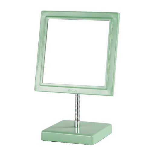 SQUARE MIRROR M.GREEN