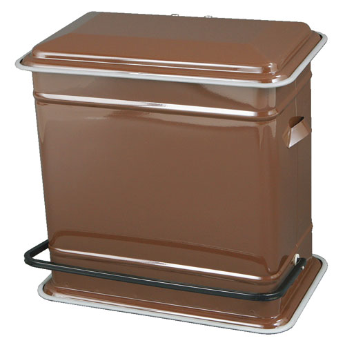 STEP CAN DUAL BUCKET BROWN