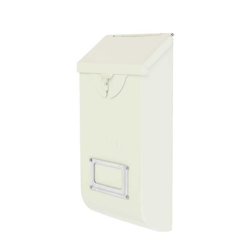 MAIL STORAGE BOX IVORY