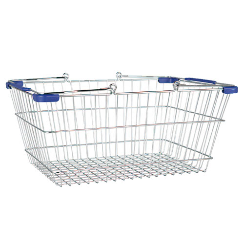 MARKET BASKET-S (CHROME/BLUE)