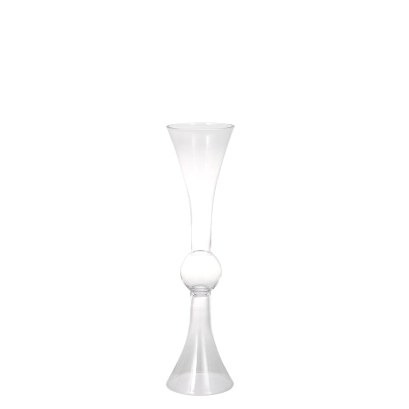 GLASS VASE AMBOS A