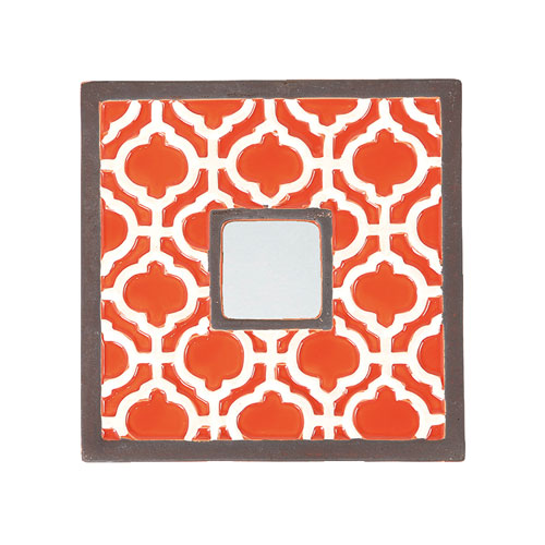 AJANTIANA CERAMIC MIRROR SQUARE C