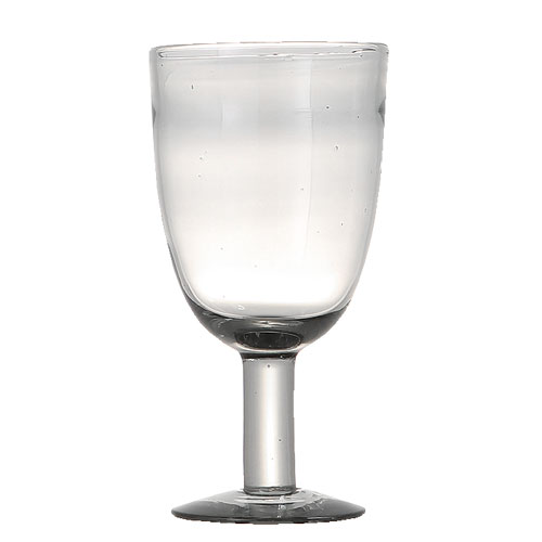 SMOKE GLASS  WINE M
