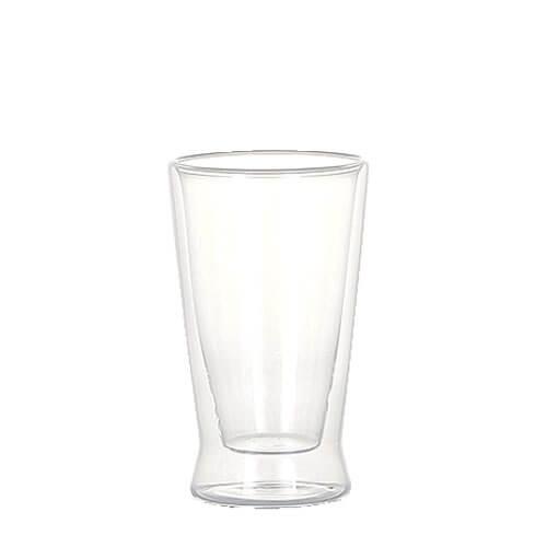 DOUBLE WALL GLASS TUMBLER 180ml