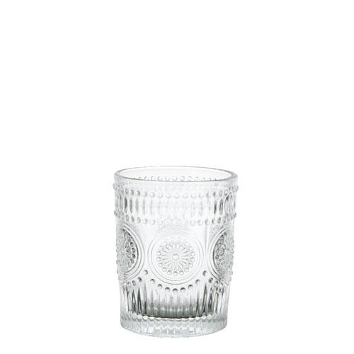 "GLASS TUMBLER S ""MARGUERITE"""