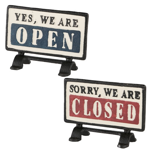RoomClip商品情報 - REVERSIBLE SIGN STAND OPEN-CLOSED
