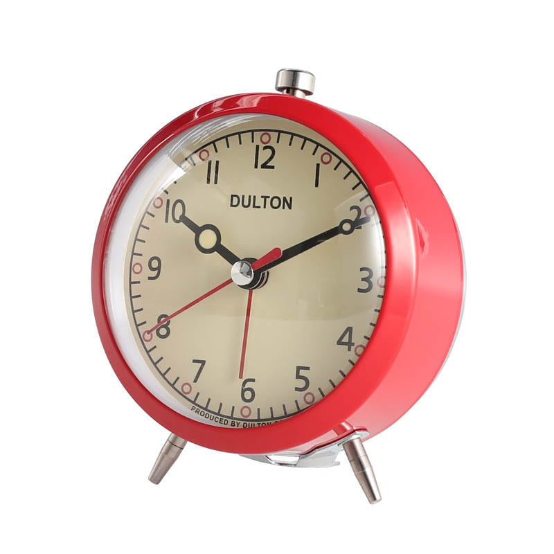ALARM CLOCK RED