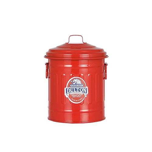 BABY GARBAGE CAN RED