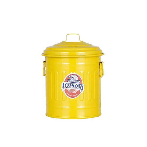 BABY GARBAGE CAN YELLOW