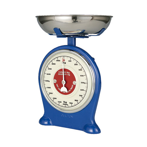 OLD FASHIONED SCALE BLUE