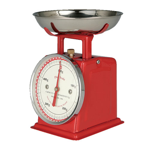 DIET SCALE RED
