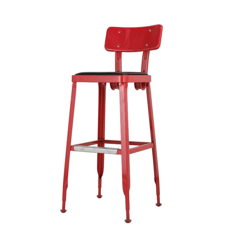 STANDARD BAR CHAIR RED