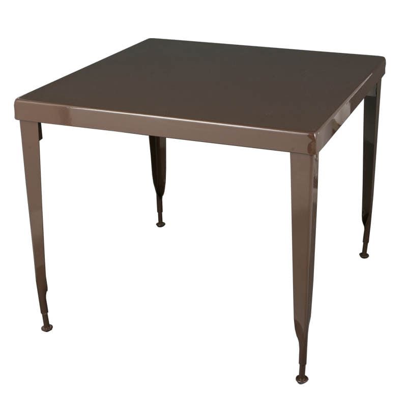 STANDARD SQUARE TABLE  BROWN