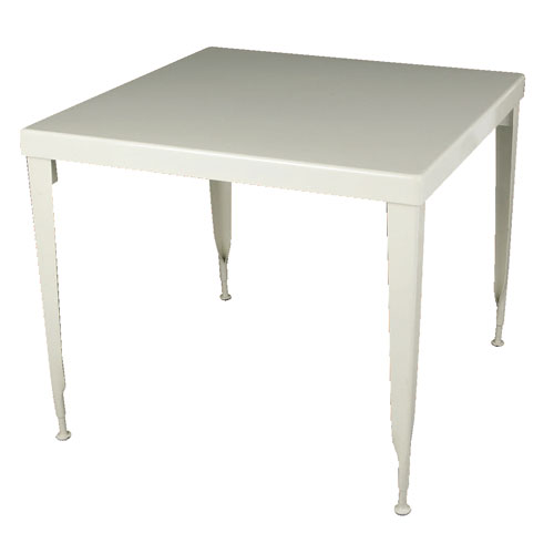 STANDARD SQUARE TABLE  IVORY