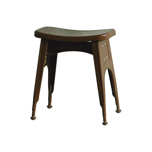 KITCHEN STOOL  BROWN