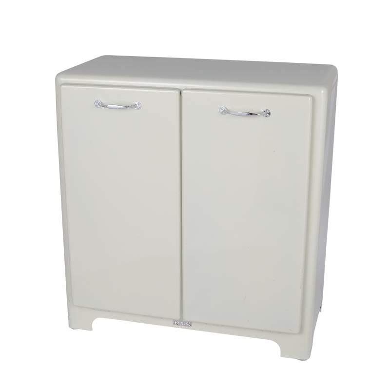 2 DOORS TRASH CAN IVORY