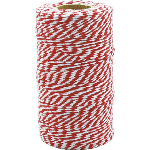 TWISTED STRING WHITE/RED