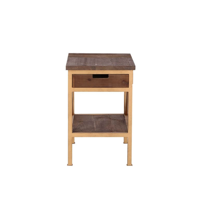 ''DARCEY'' PINE SIDE TABLE