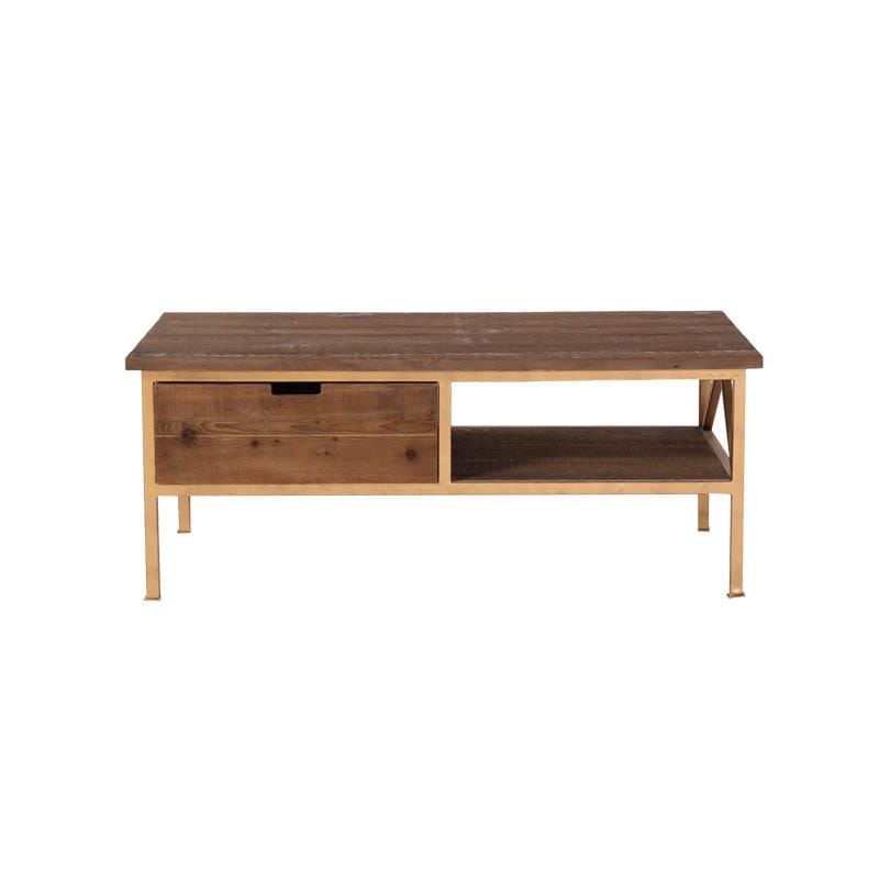 ''DARCEY'' PINE COFFEE TABLE