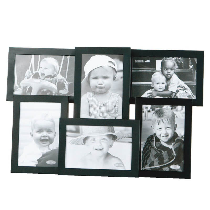 ALUMI FRAME 6 in one BLACK