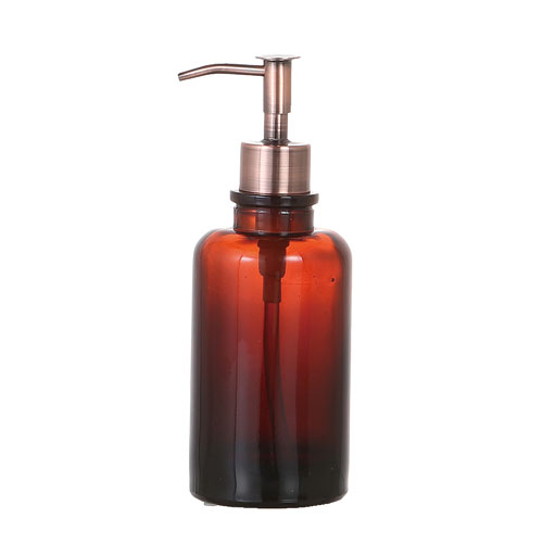 BEOBA GLASSWARE  DISPENSER AMBER