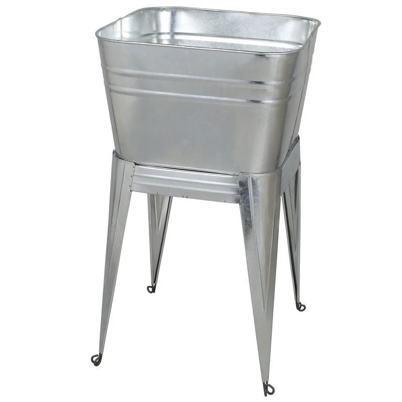 STAND TUB GALVANIZED