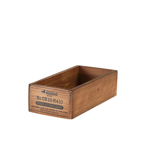 WOODEN BOX  NATURAL