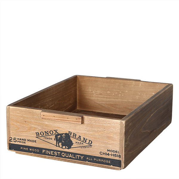 WOODEN BOX STACKING BOX A