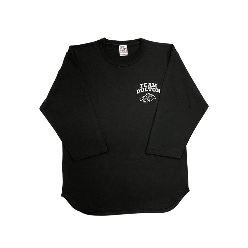 RHINO BASEBALL SHIRTS BLACK M