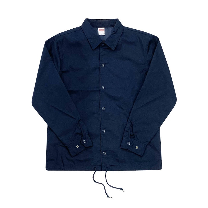 DTN COACH JACKET NAVY L