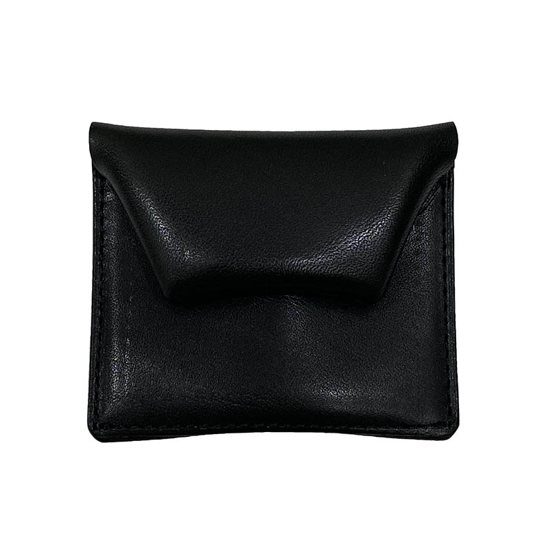 SQUARE COIN CASE BLACK