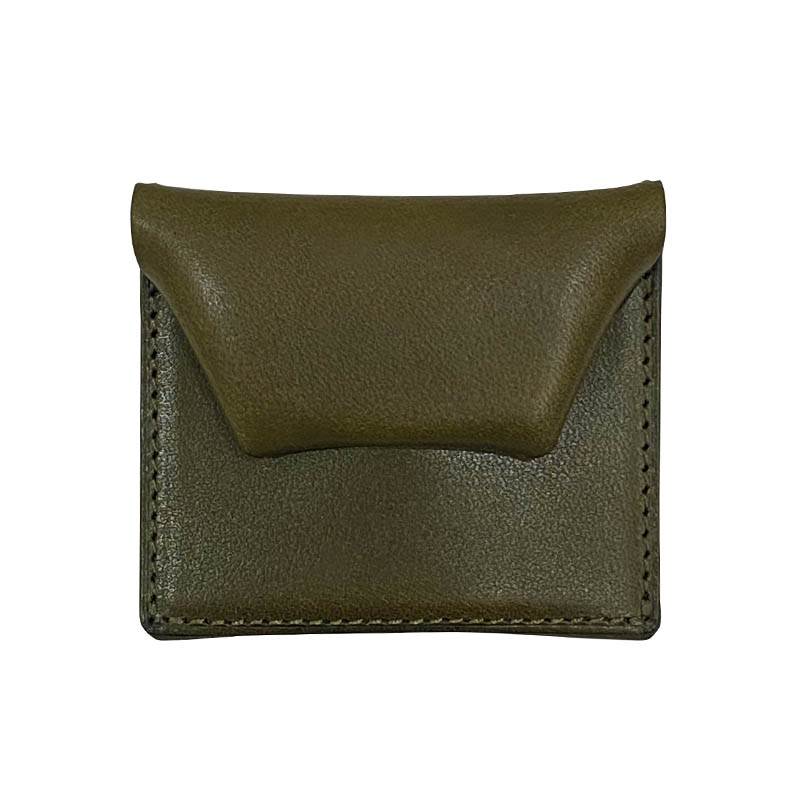 SQUARE COIN CASE GREEN