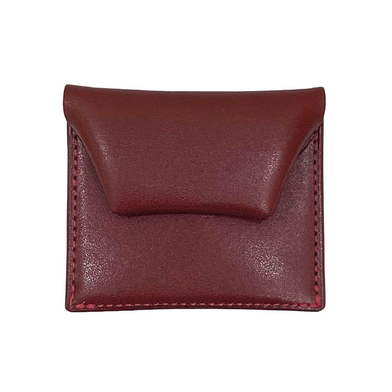 SQUARE COIN CASE RED