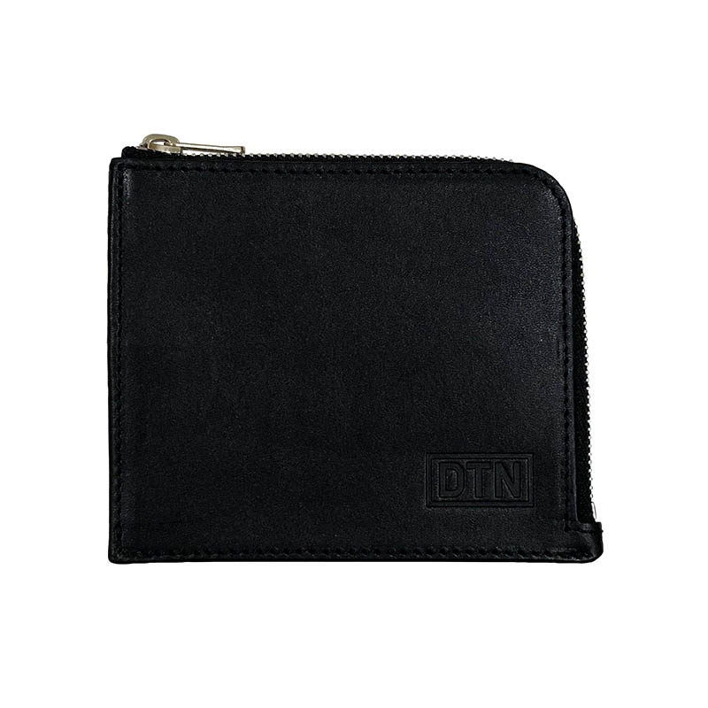 ZIP PURSE BLACK