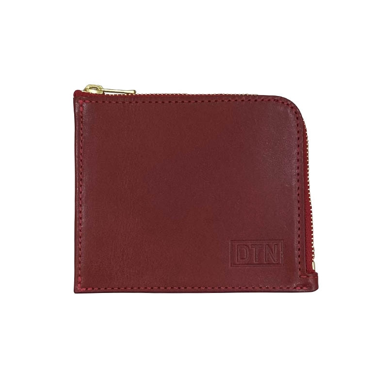 ZIP PURSE RED