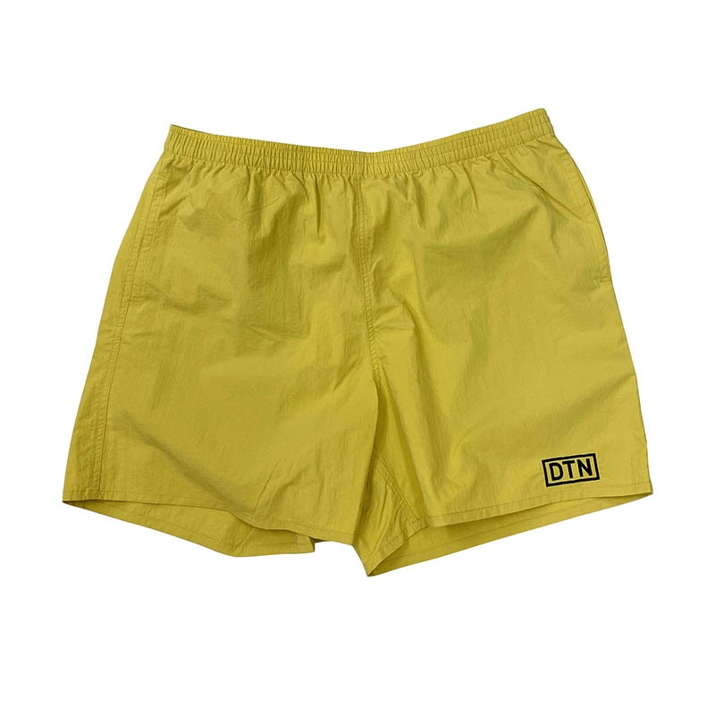 DTN NYLON SHORTS YELLOW L
