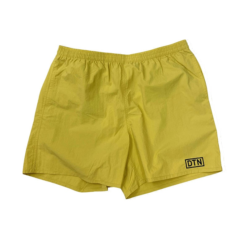 DTN NYLON SHORTS YELLOW M