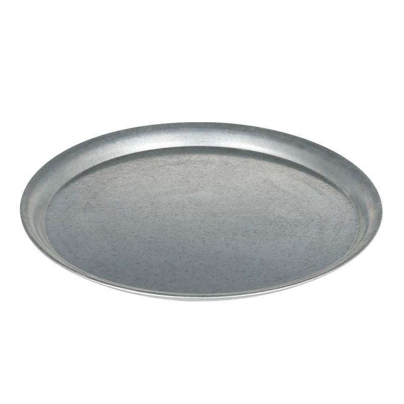 GALVANIZED ROUND TRAY XL
