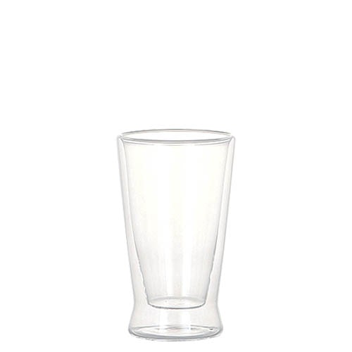 DOUBLE WALL GLASS TUMBLER 200ml
